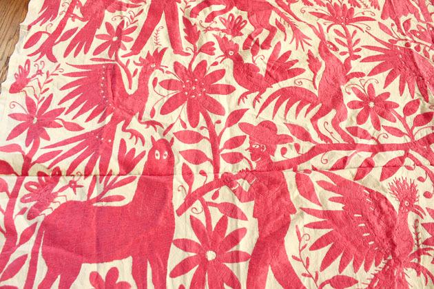 オトミの刺繍