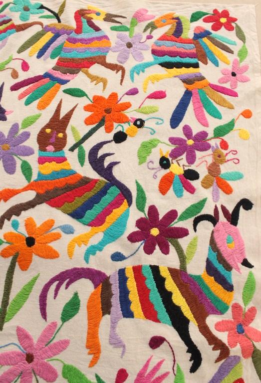 オトミ刺繍